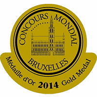 Голям златен медал за Мускат Бианко 2012 на Гулбанис от световния конкурс на Брюксел 2014