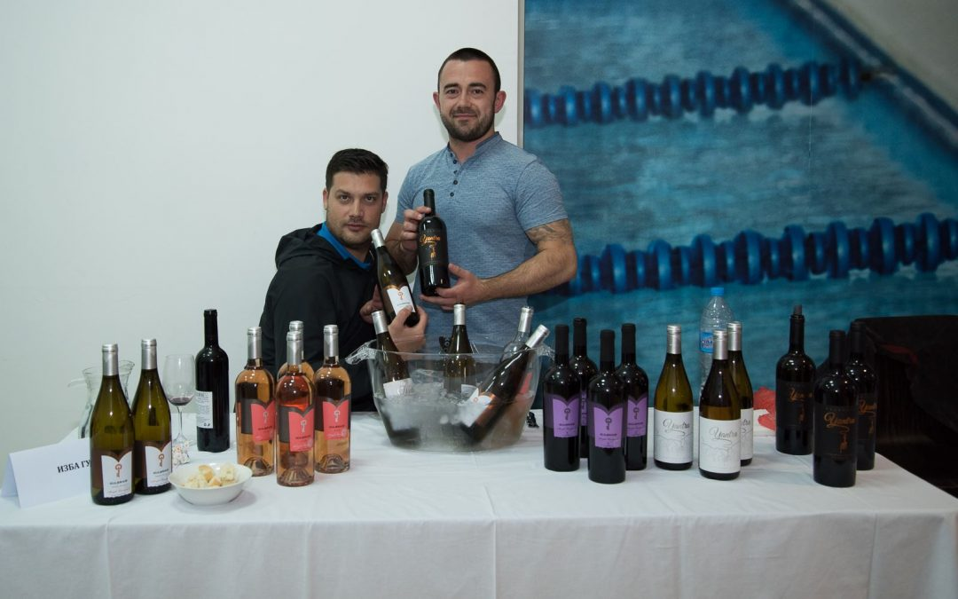 Gulbanis winery was part of the wine event held at the Veliko Tarnovo mall